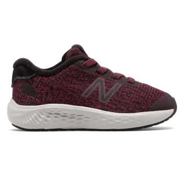 New Balance Bungee Lace Fresh Foam Arishi NXT, Burgundy with Black