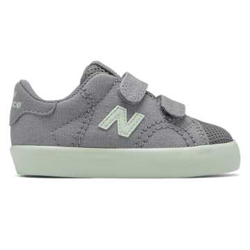 New Balance Mesh ProCourt, Silver Mink with Seafoam