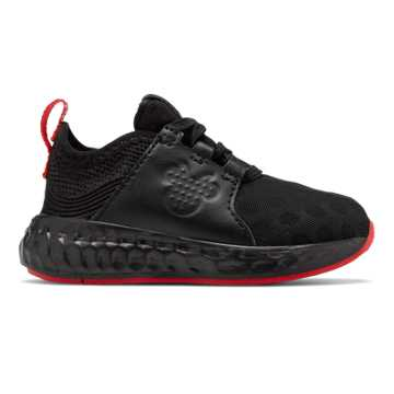 New Balance Cruz Sport Disney, Black with Red