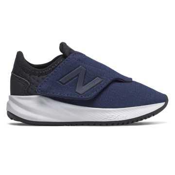 New Balance 儿童魔术贴休闲运动鞋 轻质舒适, 银河色