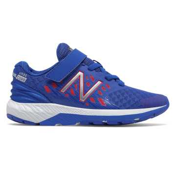 New Balance Hook and Loop FuelCore Urge v2, Blue with Red