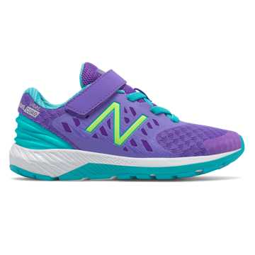 New Balance Hook and Loop FuelCore Urge v2, Purple with Teal