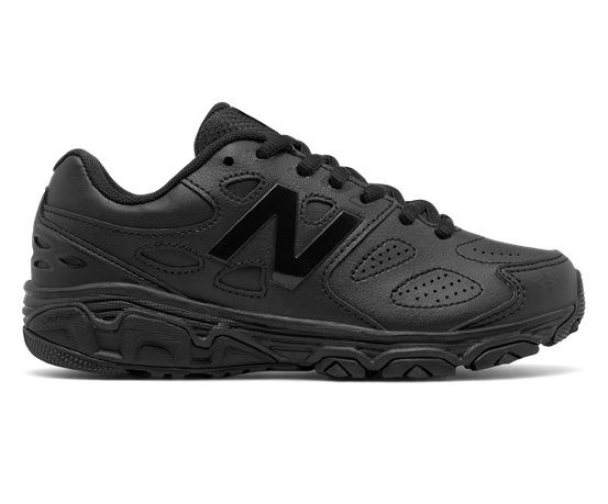 new balance kids black