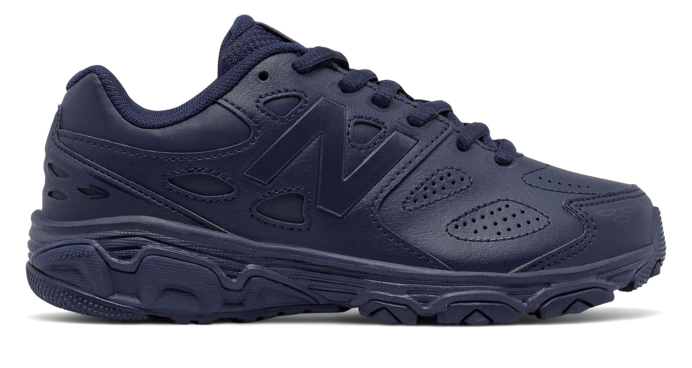 new balance black uniform shoes