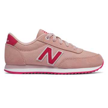 New Balance 501 Ripple Sole, Himalayan Pink with Pomegranate