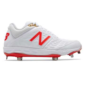 New Balance Fresh Foam 3000v4 White Flame, White with Flame