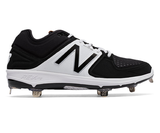 Love New Balance 3000V3 Metal Low Men Baseball Shoes Grey Black