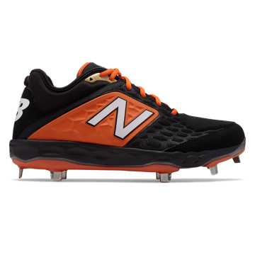 New Balance Fresh Foam 3000v4 Metal, Black with Orange