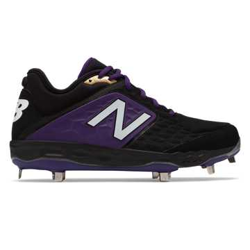 New Balance Fresh Foam 3000v4 Metal, Black with Purple