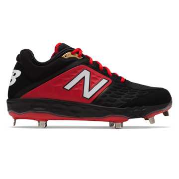New Balance Fresh Foam 3000v4 Metal, Black with Red