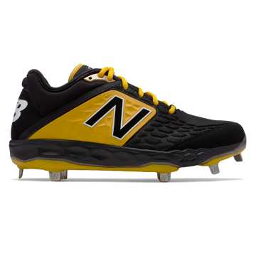 New Balance Fresh Foam 3000v4 Metal, Black with Yellow