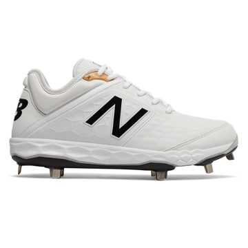 New Balance 3000v4 Metal, White with Black