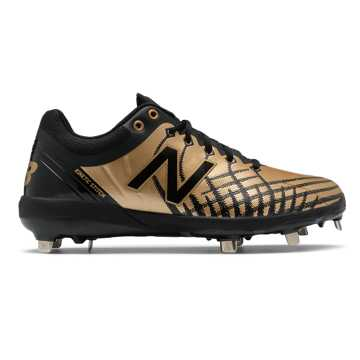 New Balance 4040v5 Precious Metals, Black with Gold