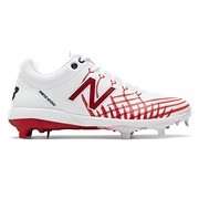 e68f8417bc089 Men's Cleats & Turf Shoes. New. New Balance 4040v5 Hero, White with Red &  Team Navy