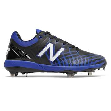 New Balance 4040v5 Metal, Black with Royal Blue