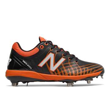 New Balance 4040v5 Metal, Black with Orange