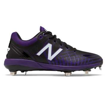 New Balance 4040v5 Metal, Black with Purple