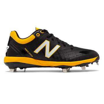 New Balance 4040v5 Metal, Black with Yellow