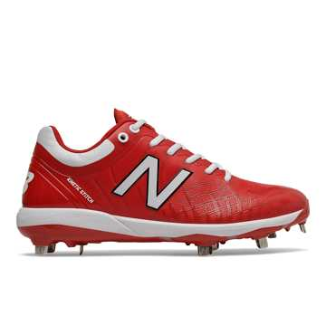 New Balance 4040v5 Metal, Red with White