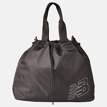 New Balance Womens Achiever Tote, LAB01002BK image number null