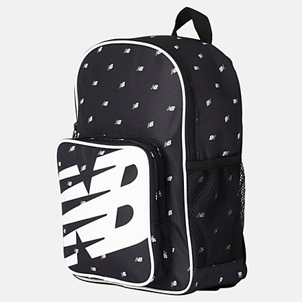 New Balance Kids Sporty Backpack AOP, LAB01006BM image number null