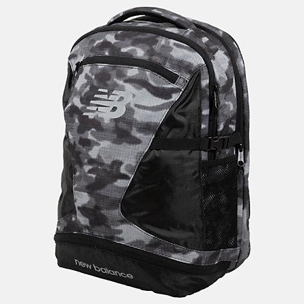 New Balance Champ Backpack AOP, LAB01018BKM image number null
