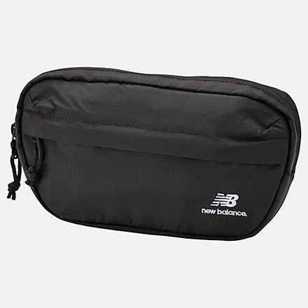 New Balance LSA Waist Pack, LAB01024BK image number null