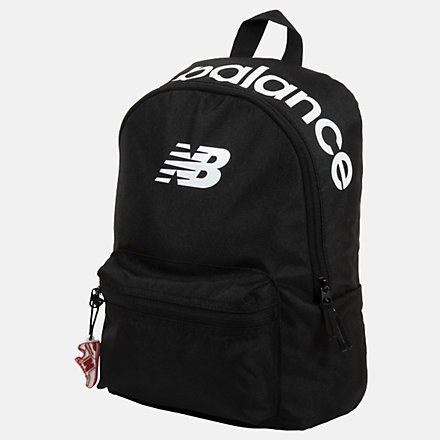 New Balance Kids Classic Backpack, LAB03004BK image number null