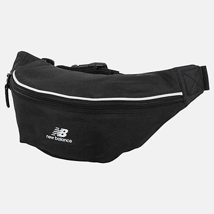 New Balance Classic Waist Pack, LAB03016BK image number null