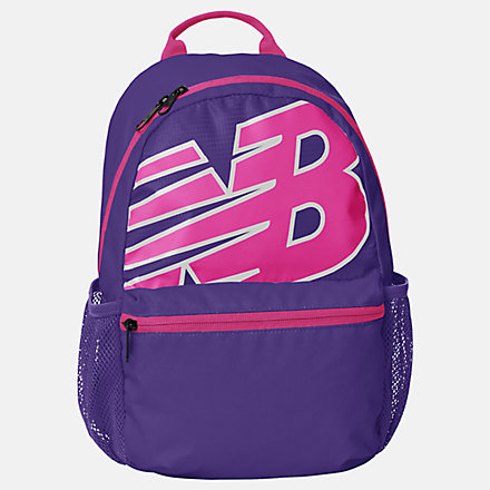 New Balance Kids Core Performance Backpack, LAB13401PRP image number null