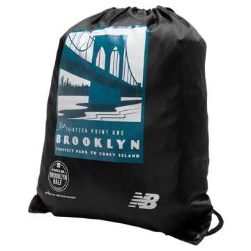 New Balance Brooklyn Half Cinch Sack, Black
