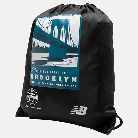 New Balance Brooklyn Half Cinch Sack, LAB9039FBK