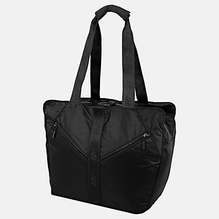 New Balance Womens Training Tote, LAB91001BK image number null