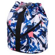 New Balance Sac à dos pour femmes, Bleu, blanc et rose