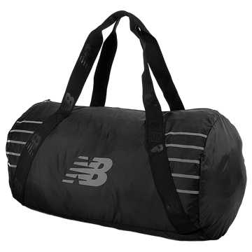 New Balance Packable Duffel, Black