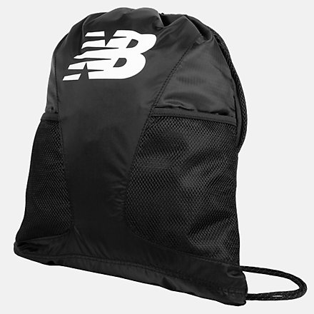 New Balance Players Cinch Sack, LAB91014BK image number null