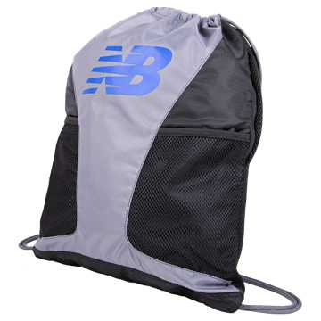 New Balance Players Cinch Sack, Gunmetal