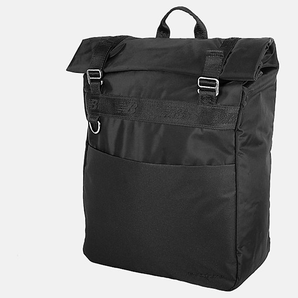 New Balance LSA Roll Top Backpack, LAB91036BK