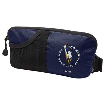 New Balance NYC Marathon Performance Waist Pack, Pigment with Black