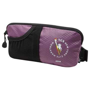 New Balance TCS NYC Marathon Performance Waist Pack, Kite Purple