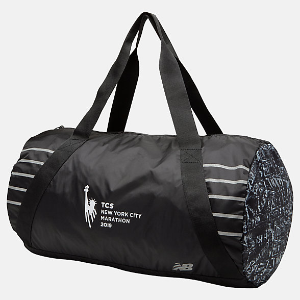 New Balance TCS NYC Marathon Packable Duffel, LAB9107MBKW