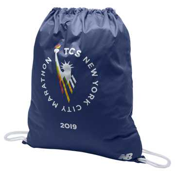 New Balance TCS NYC Marathon Cinch Sack, Pigment
