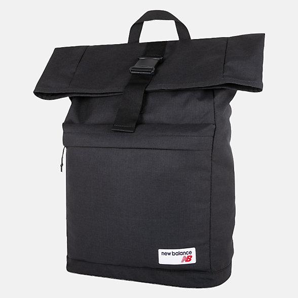 New Balance LSA Rolltop Backpack, LAB93021BK