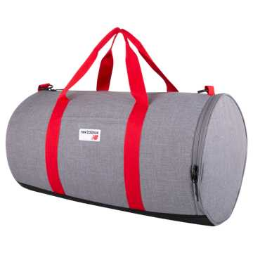 New Balance LSA Barrel Duffel, Athletic Grey Heather