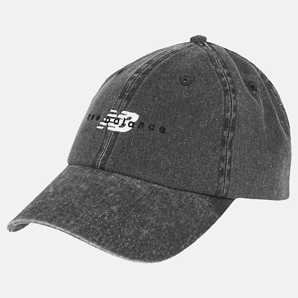 New Balance NB Seasonal Classic Hat, LAH01003BK