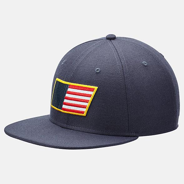 New Balance Boston Sport 6-Panel Flat Brim Hat, LAH01006PGM