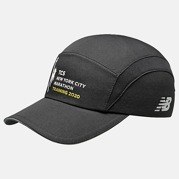 New Balance 2020 NYCM Training Hat, LAH01025MBK