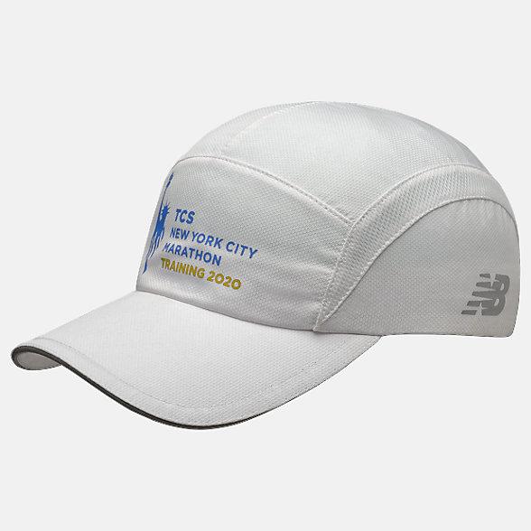 New Balance 2020 NYCM Training Hat, LAH01025MWHT