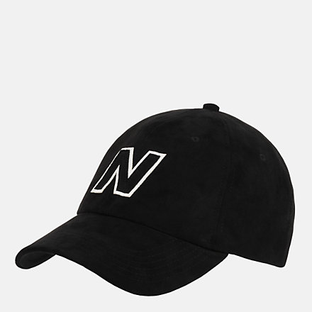 New Balance Block N Hat, LAH03001BK image number null