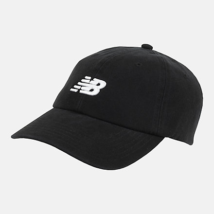 New Balance Kids Classic Hat, LAH03002BK image number null